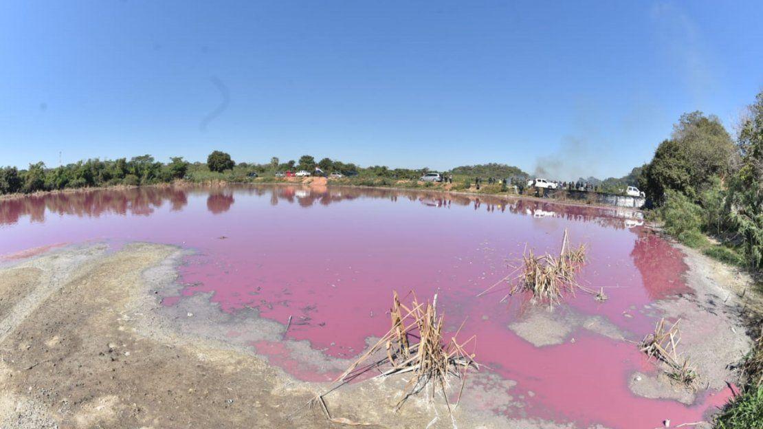Exigen cierre de curtiembre para detener contaminación de Laguna Cerro