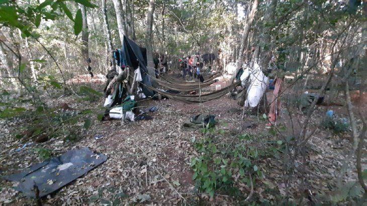 Varias evidencias fueron encontradas en el campamento del autodenominado Ejército del Pueblo Paraguayo (EPP).