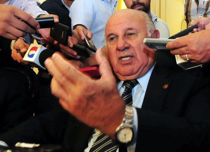 El ex vicepresidente de la República Óscar Denis fue secuestrado por el EPP hace más de un mes.