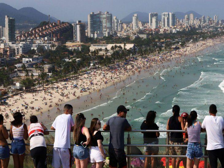 Brasil. El país es uno de los destinos de atracción media en un nuevo estudio.