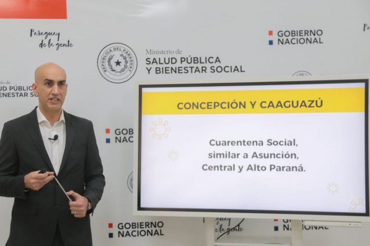 Salud recomienda cuarentena social para Caaguazú y Concepción