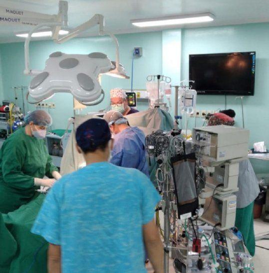 Segundo trasplante cardiaco se concretó en el Hospital Pediátrico de Acosta Ñu.