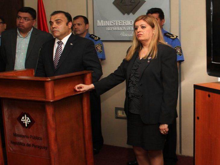 Cuestionados. Javier Díaz Verón y Sandra Quiñónez son los últimos dos fiscales generales.