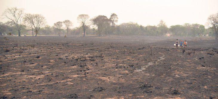 Varios incendios se registraron a nivel país.