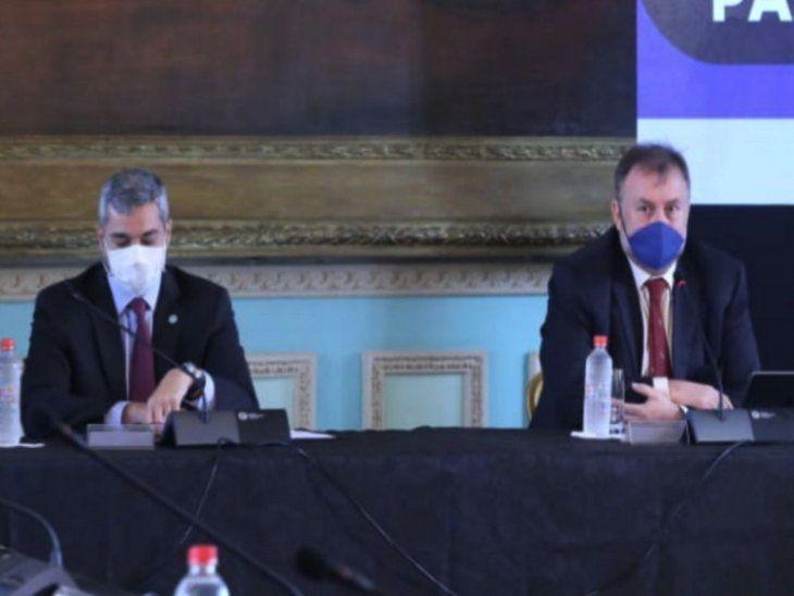 Renuncia. Benigno López deja el Gobierno de su hermano tras dos años y dos meses.