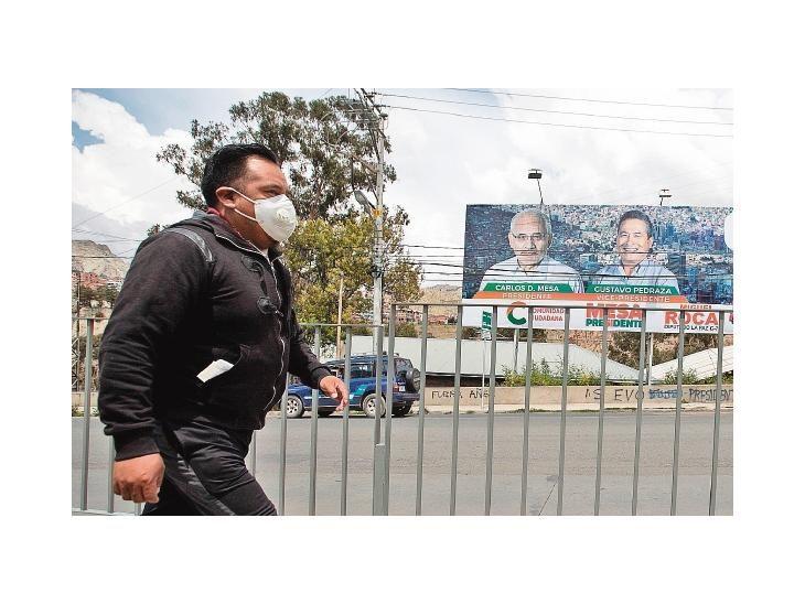 Comicios. Bolivia elige hoy a su nuevo presidente en clima de tensión golpeado por la crisis.