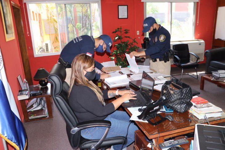 La Fiscalía allanó las oficinas del Indert.