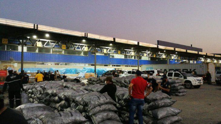 Cargamentos de carbón incautados en el puerto Terport