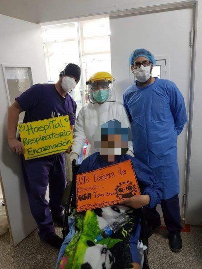 La joven llegó al Hospital del IPS de Encarnación a principios de octubre.