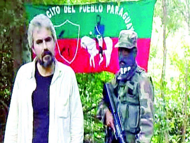 Prueba de vida. Fidel Zavala volvió a recordar  el calvario que vivió en manos del EPP.