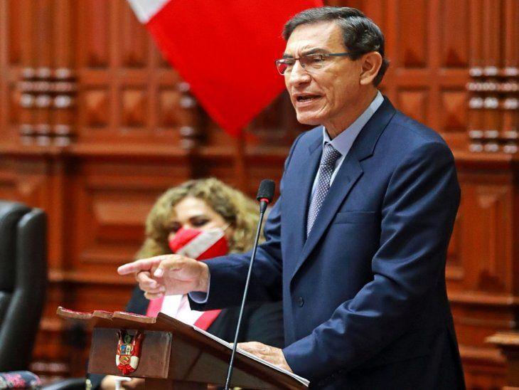 Defensa. Martín Vizcarra negó haber recibido sobornos cuando era gobernador.