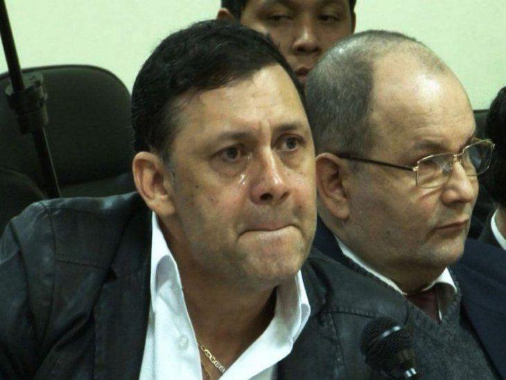 Condenado. El ex senador Víctor Bogado