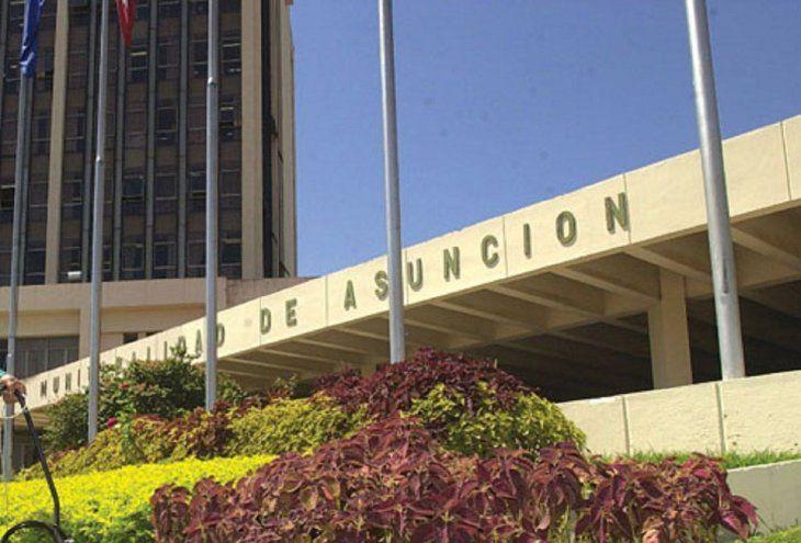 Fachada.  La Municipalidad de Asunción denunció el hecho.