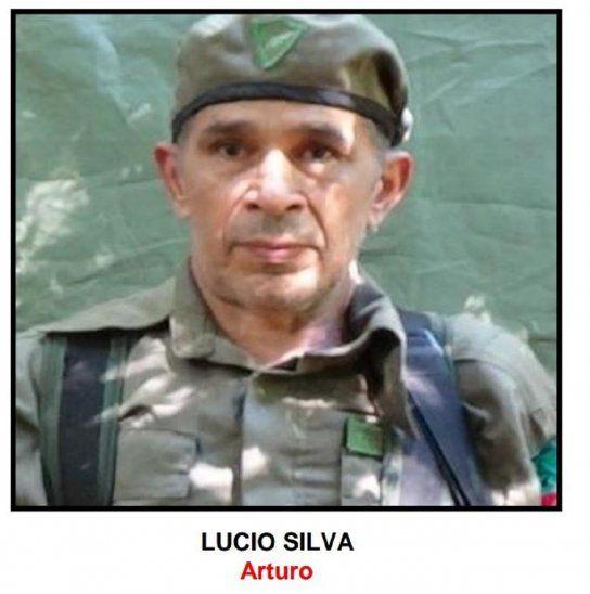 Lucio Silva, uno de los abatidos en el enfrentamiento con la Fuerza de Tarea Conjunta (FTC).<br>