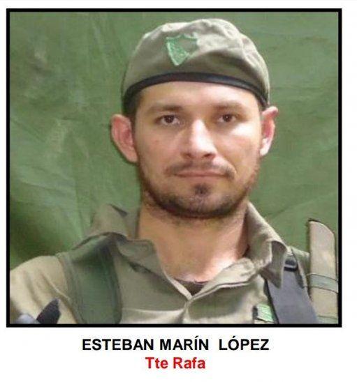 Esteban Marín, otro de los fallecidos en el tiroteo.<br>