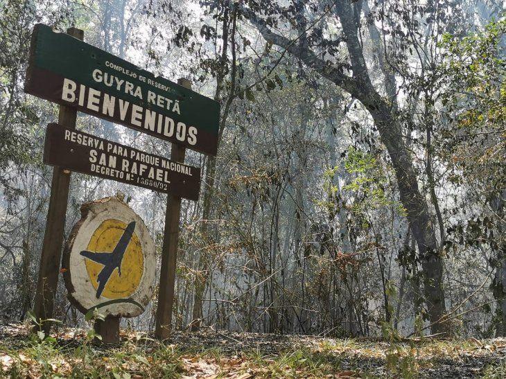 El fuego amenaza a comunidades indígenas y campesinas.