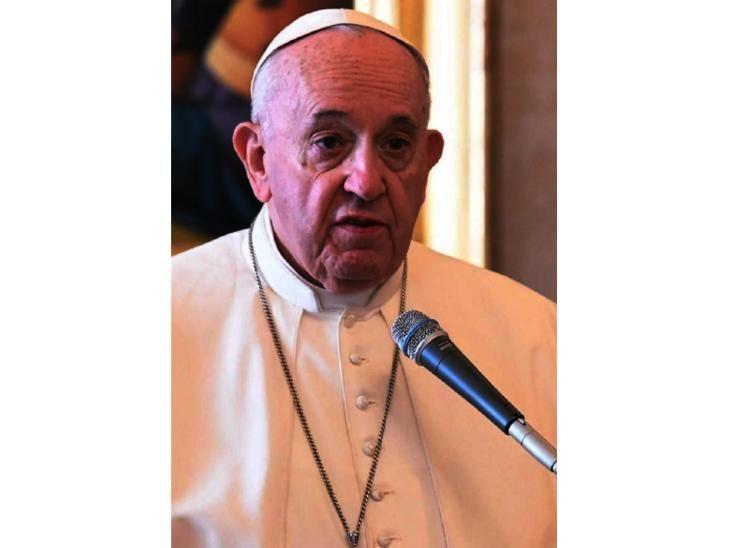 Papa pidió que el covid sirva para tener una Navidad menos consumista
