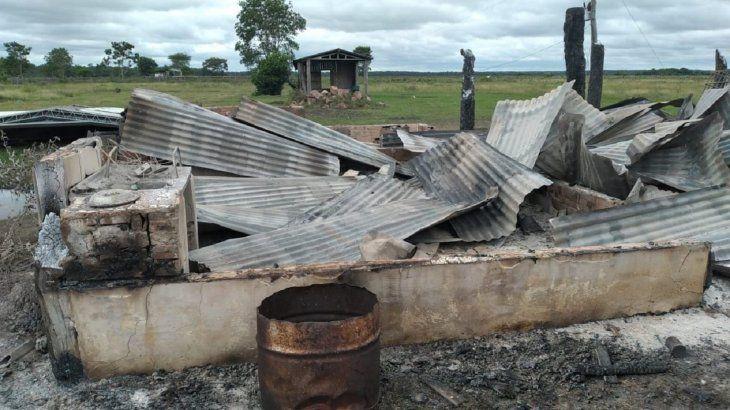 La propiedad atacada pertenece a José Urrutia Zavala.