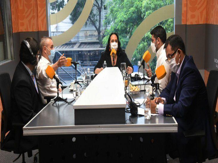 Enfrentados. Centurión y Rodríguez son apoyados por los sectores mayoritarios de la ANR.