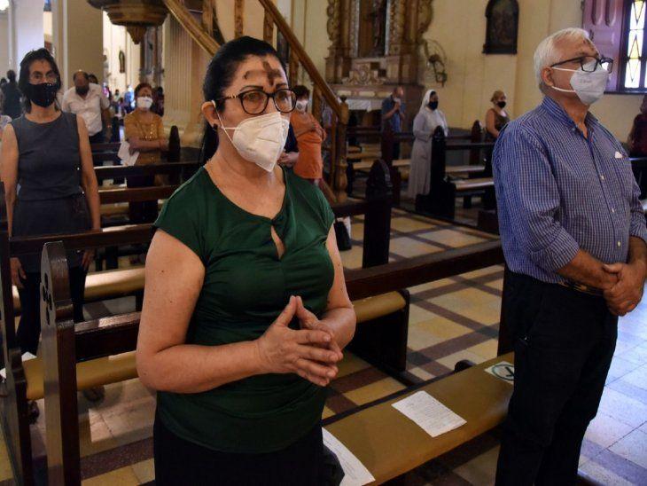 Tiempo litúrgico. Católicos dieron inicio a la Cuaresma  para la Semana Santa.