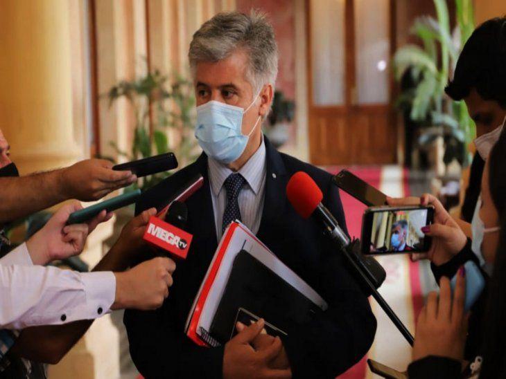 Proyecto en marcha. Giuzzio  habló  del plan de seguridad que demandará inversión.