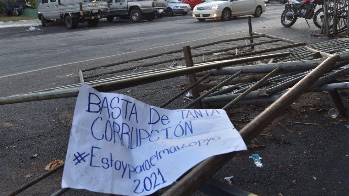 El día después de la manifestación ciudadana y la represión policial