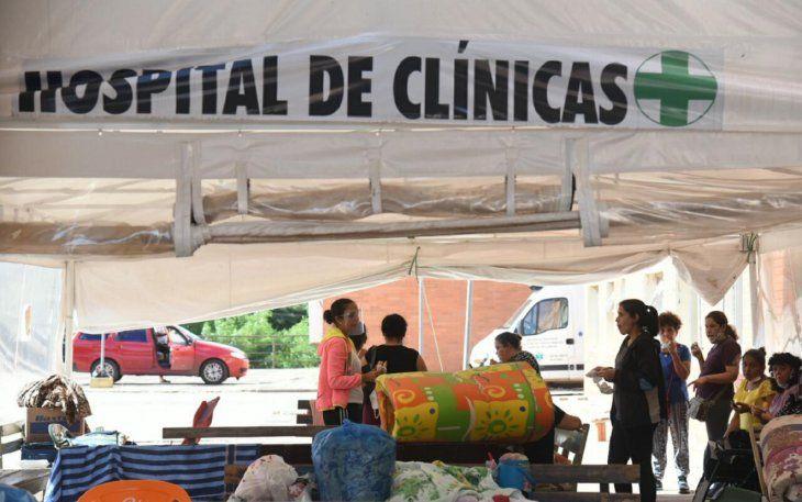 Alta demanda satura sistema de oxígeno en el Hospital de Clínicas.