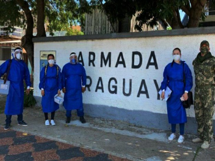 Manos a la vacunación. Brigadas recorren casa por casa en los distritos de Alto Paraguay.
