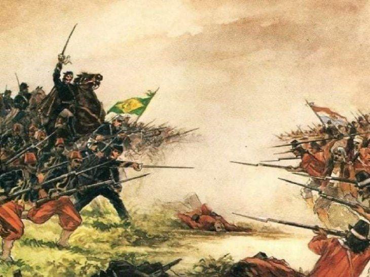 Guerra de la Triple Alianza. Imagen de referencia.