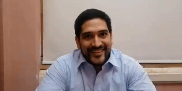 El secretario privado del presidente Mario Abdo Benítez