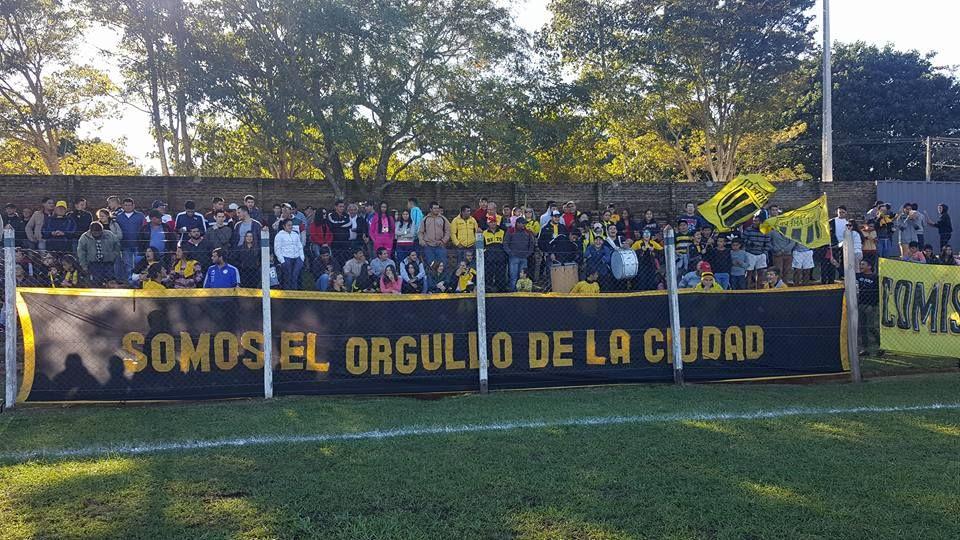 La afición del Sud América se trasladará hasta Luque en tres buses. Foto: @Suda1913