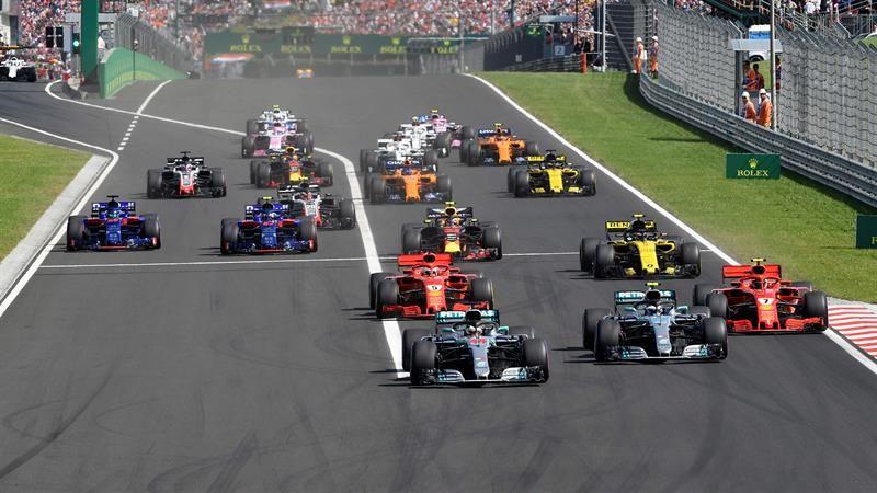 Hamilton gana por quinta vez en Hungría y refuerza su liderato. Foto: EFE