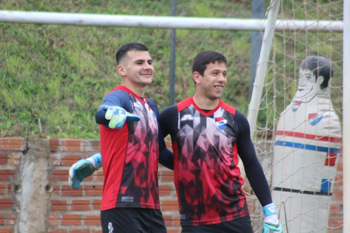 Jugadores de Nacional esperan quedarse con la victoria. Foto: Gentileza