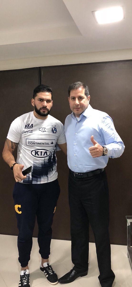Mario Ricardo junto a Miguel Figueredo.