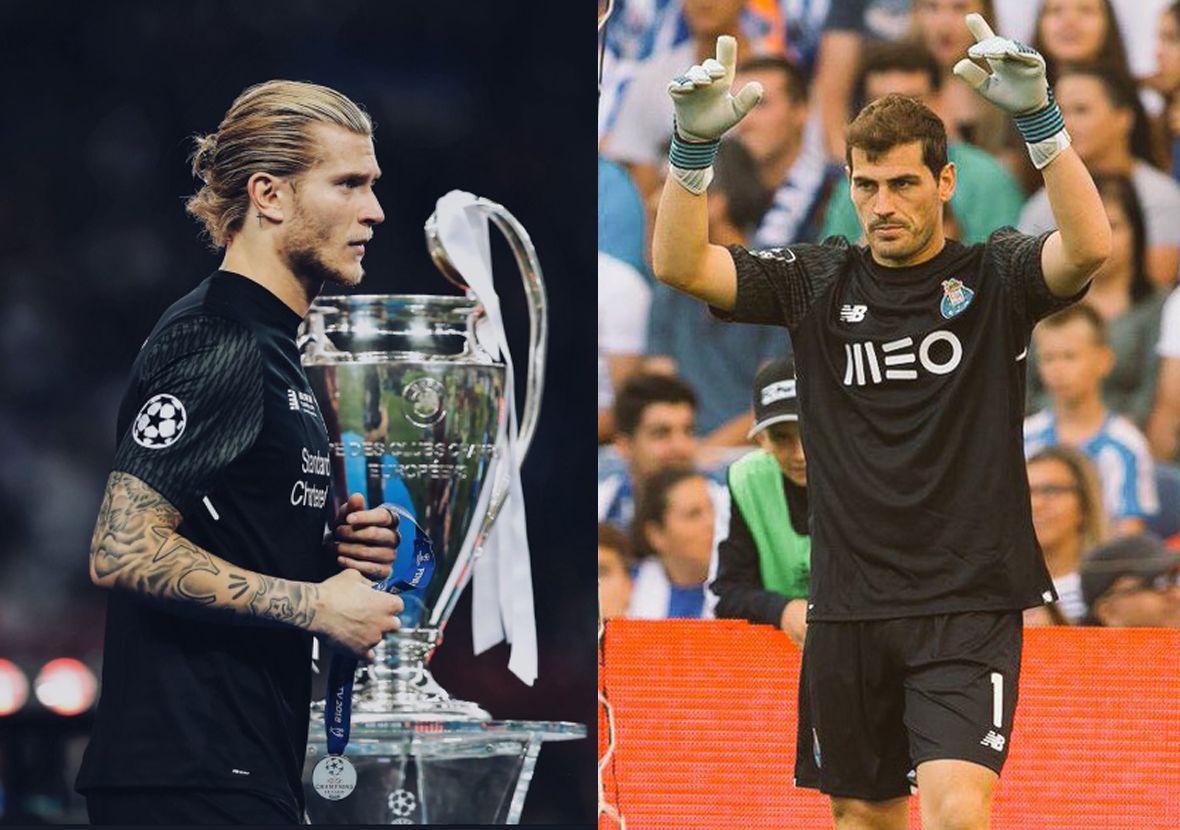 Casillas le dio su apoyo a Karius.