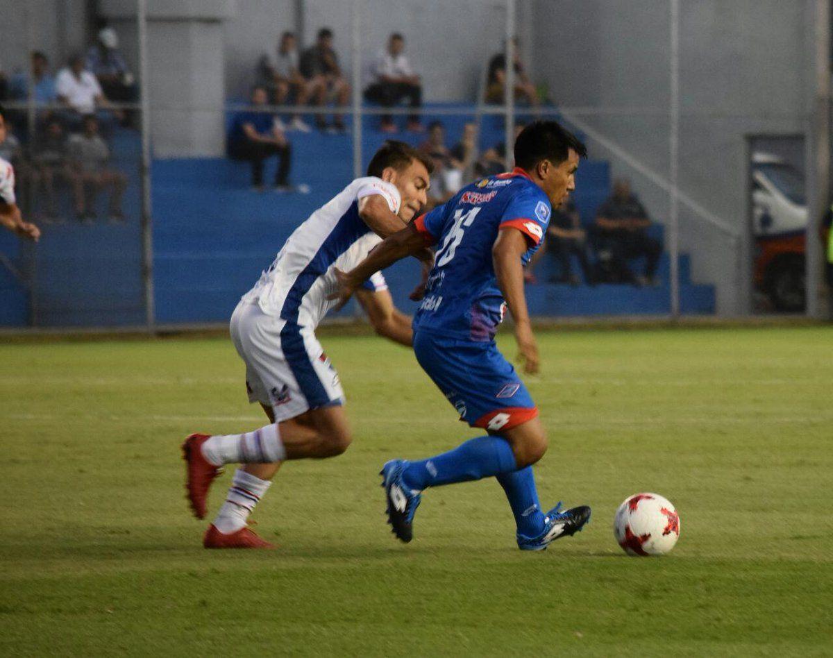Nacional e Independiente chocan en Campo Grande. Foto: APF Oficial