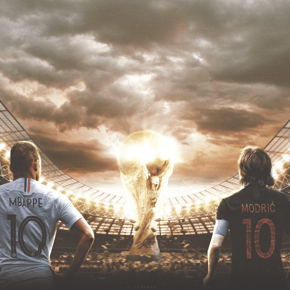Francia y Croacia van por la gloria máxima. Imagen: Twitter @_CHELOpy