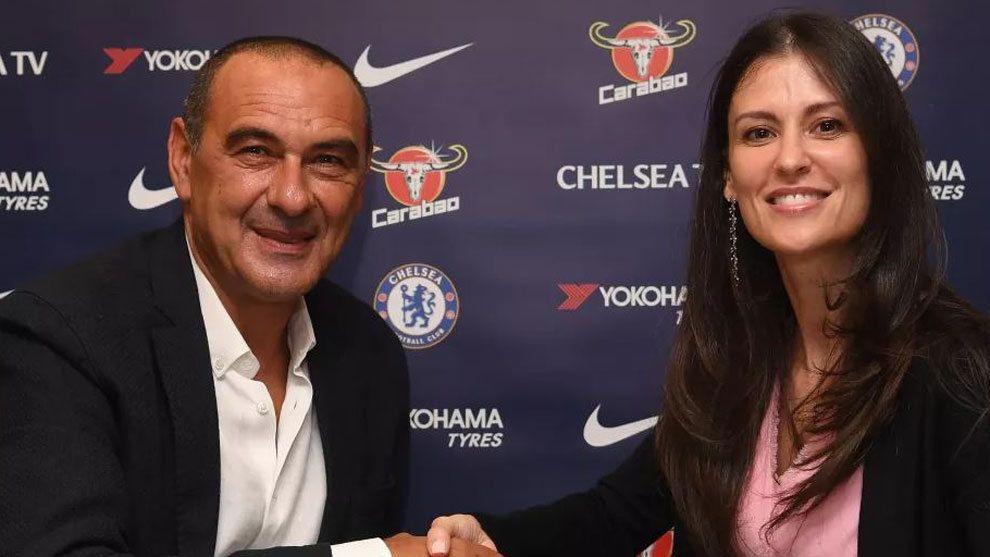El Chelsea ficha a Sarri como entrenador tras la marcha de Conte. Foto: Gentileza