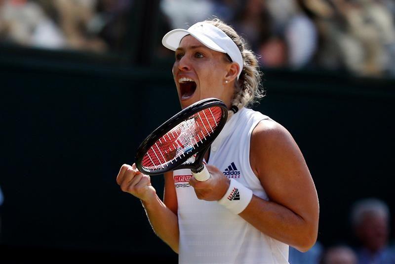 Kerber disputará su segunda final en Wimbledon. Foto: EFE