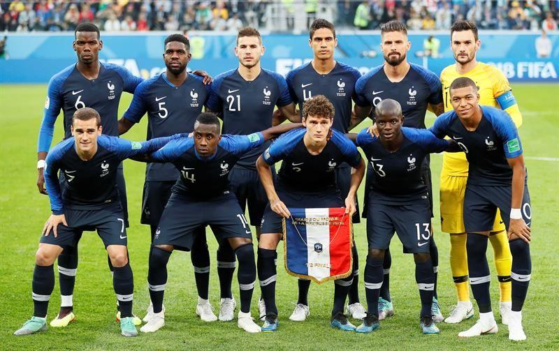 Francia nunca ha perdido ante Croacia. Foto: EFE
