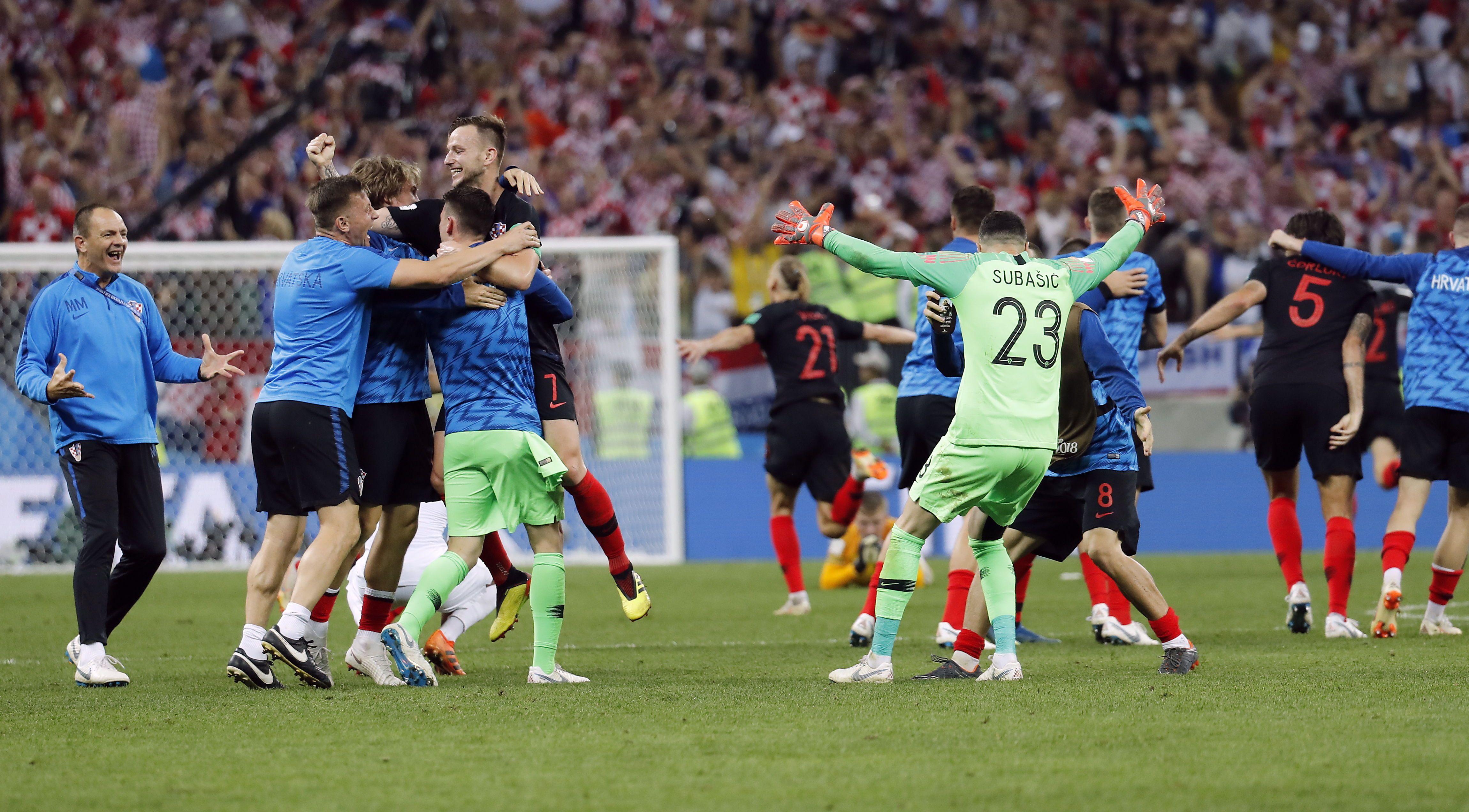 Croacia jugará la final ante Francia el próximo domingo. Foto: EFE
