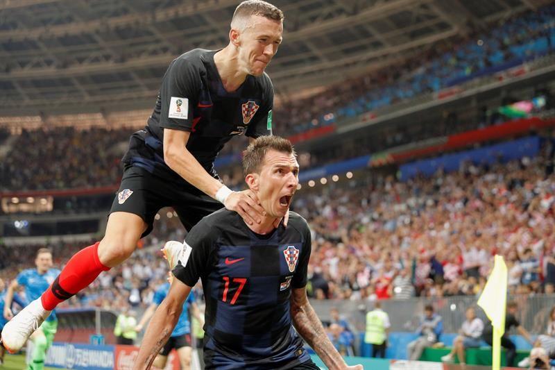Croacia es finalista del Mundial de Rusia. Foto: EFE