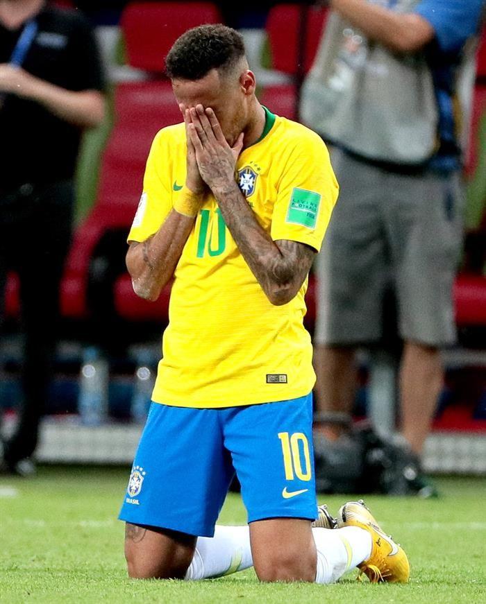 Neymar se expresó este sábado a través de su cuenta de Instagram. Foto: EFE