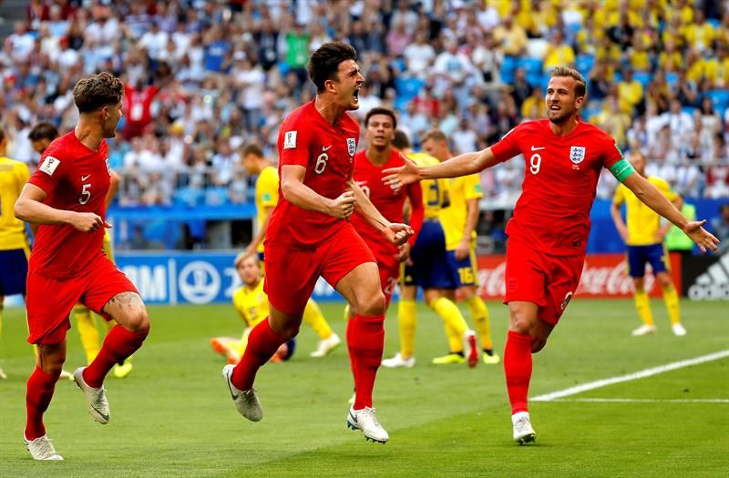 Inglaterra sigue su camino en Rusia 2018. Foto: EFE