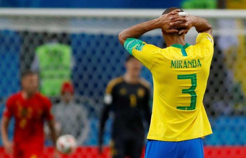Miranda opinó tras la eliminación brasilera. Foto: EFE