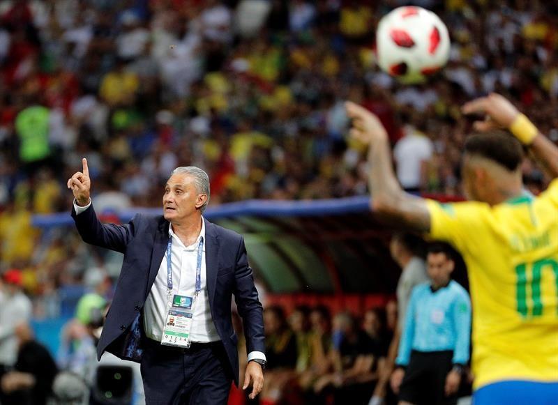 Tite analizó la eliminación brasileña en Rusia. Foto: EFE