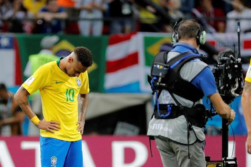 Brasil cayó en cuartos de final del Mundial. Foto: EFE