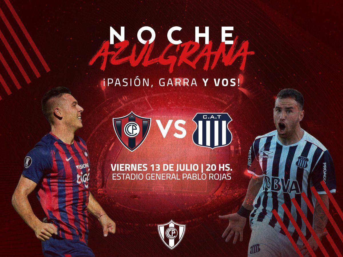 Cerro Porteño anuncia su Noche Azulgrana