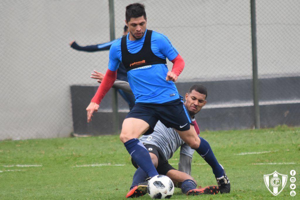Rodrigo Rojas en acción. Foto: Prensa Club Cerro Porteño