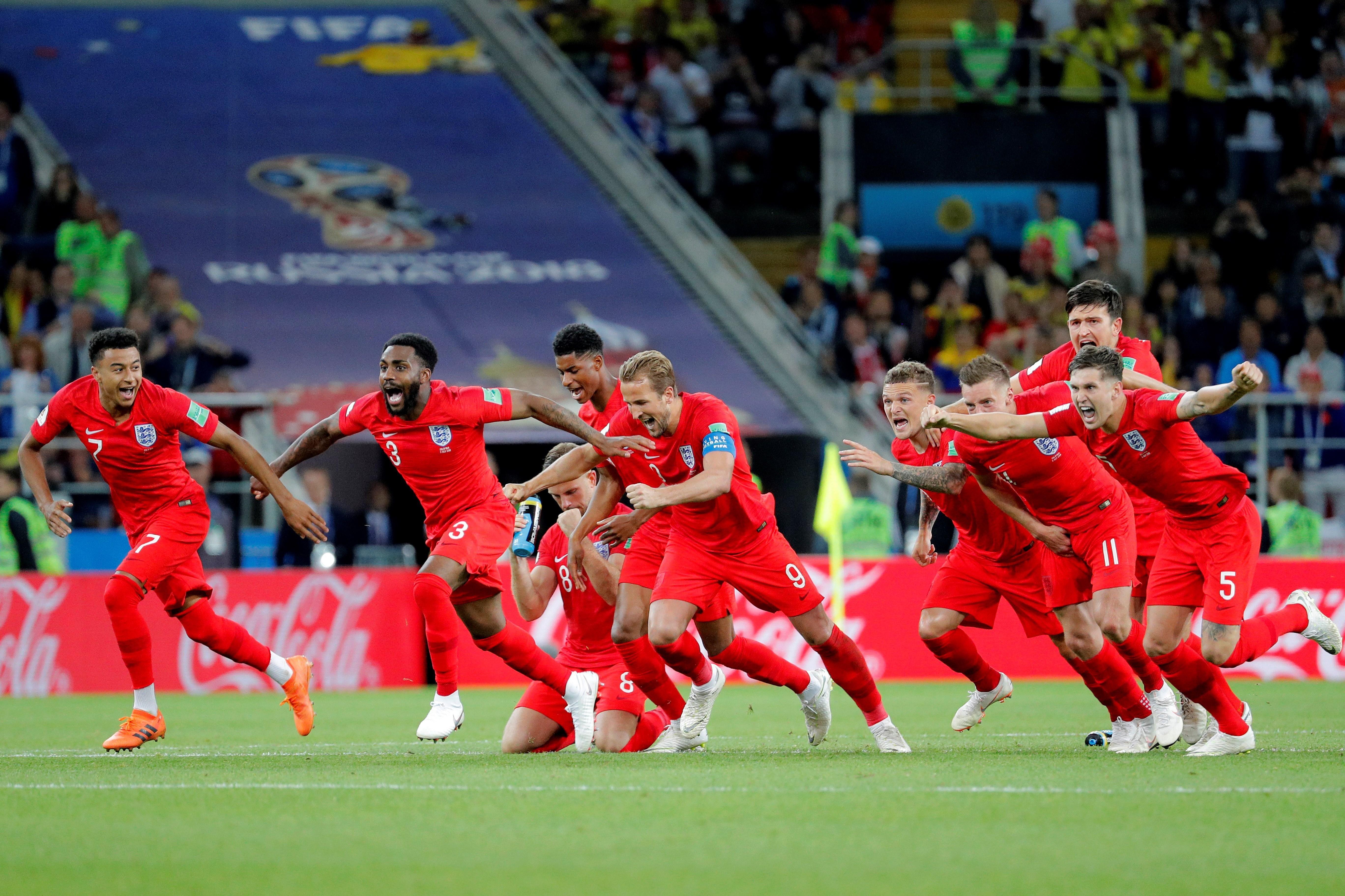 Inglaterra selló su pase a cuartos. Foto: EFE